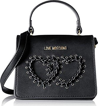 Borsa Soft Nappa Pu Nero, Womens Shoulder Bag, Black, 11x28x38 cm (B x H T) Love Moschino
