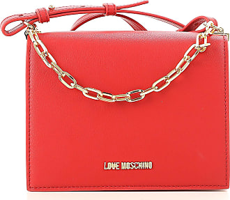 Shoulder Bag for Women On Sale, fuxia, Leather, 2017, one size Moschino