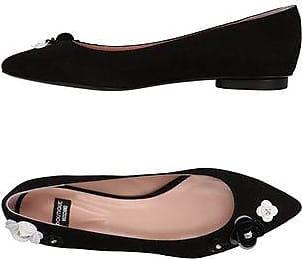 Moschino 6018 8006, Ballerines pour FemmeNoirNoir (Black), 36
