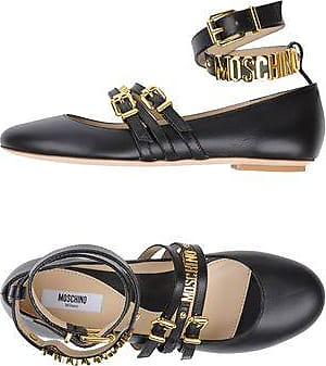 Sandals for Men On Sale, Black, Rubber, 2017, 6.5 Moschino