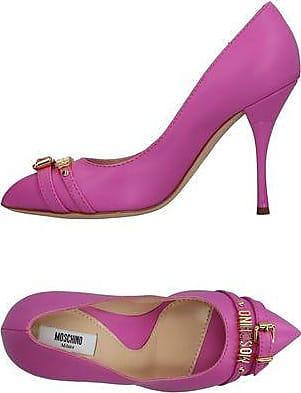 Glittery, Scarpe con Chiusura a T Donna, Viola (Viola (Purple)), 33 Moschino