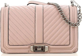 Shoulder Bag for Women On Sale, Vintage Pink, Leather, 2017, one size Moschino