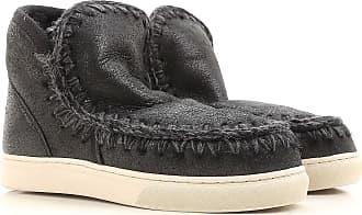Stiefel für Damen, Stiefeletten, Bootie, Boots Günstig im Sale, Weiss, Leder, 2017, 36 37 38 39 40 Mou