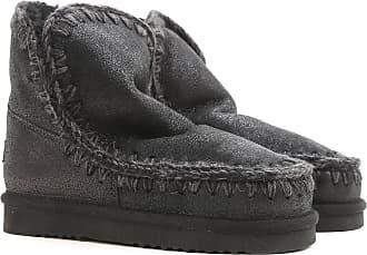 Boots for Women, Booties On Sale, Steel, Metallic Fiber, 2017, EUR 37 - UK 4 - USA 6.5 Mou