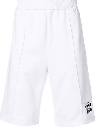 Shorts for Men On Sale, Black, Cotton, 2017, L M Msgm