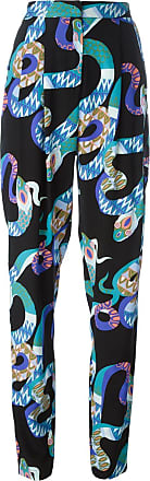Pants for Women On Sale, Multicolor, Silk, 2017, 28 Msgm