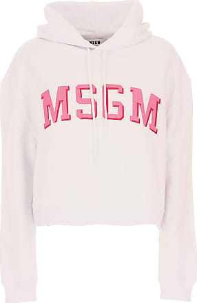 Sweater for Women Jumper On Sale, Pink, Cotton, 2017, 6 Msgm