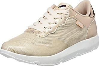 Gansa, Zapatillas de Deporte para Mujer, Varios Colores (Lavo Negronylonka Grisaction PU Blanco), 39 EU Mtng