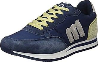 MTNG Gante, Zapatillas para Hombre, Varios Colores (Vertigo Marinomesh F918 Azulaction PU Blanco Marino), 44 EU