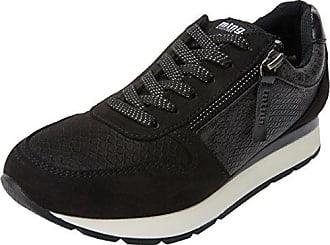 MTNG Nanami, Zapatillas de Deporte para Mujer, Negro (Soft Negronylonka Negro), 36 EU
