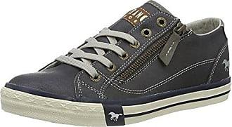 Mustang 1146-503-800, Sneakers Hautes Femme, Bleu (800 Dunkelblau), 37 EU