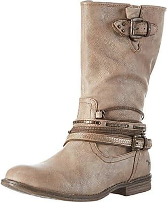 MUSTANG Schnürstiefel taupe