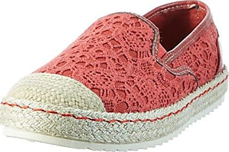 Mustang coole Mädchen Synthetik Metallic Sneakers Low beere, Mustang-Laufsohle, 3338123/36
