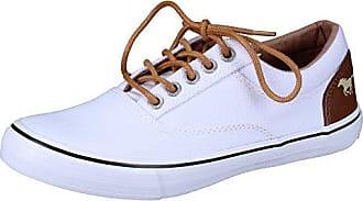 Damen Canvas Sneaker Weiß, Schuhgröße:EUR 36 Mustang