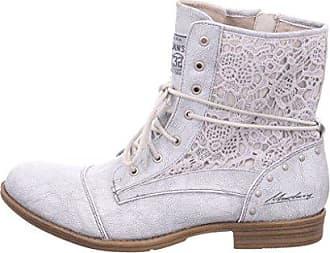 Mustang Damen Zehentrenner Silber/Schwarz, Schuhgröße:EUR 44