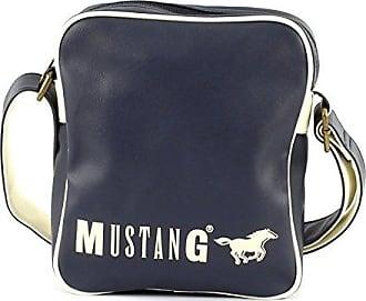 Herren Dayton Eric Shoulderbag Lhz Schultertasche, Blau (Dark Blue), 11x24x36 cm Mustang