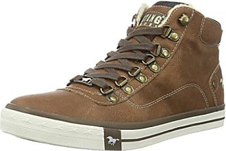 4103-302-301, Baskets Basses Homme, Marron (Kastanie), 44 EUMustang