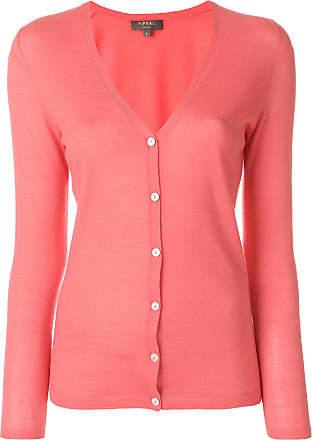 fine cashmere cardigan - Pink & Purple N.Peal