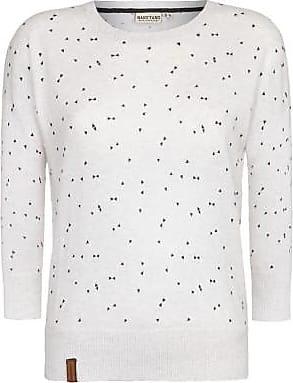 Maja Triangles II Sweater white marble melange Naketano