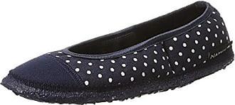 Nanga Damen Spitze Pantoffeln, Blau (Marine), 35 EU