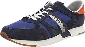Napapijri Footwear Nestor, Baskets Hautes Homme, Bleu (Blue Marine N65), 44 EU