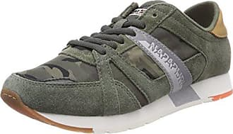 Napapijri Footwear Rabari, Baskets Homme, Multicolore (Khaki/Brown N741), 40 EU