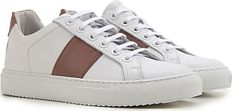 Sneakers for Women, White, Leather, 2017, 4.5 5.5 6 7.5 National Standard