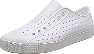 Native Native Unisex Jefferson Fashion Sneaker Shell WhiteShell White6 US Men