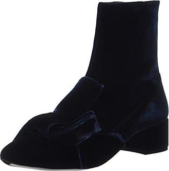 SPM Maggy Boot, Botas Chelsea para Mujer, Multicolor (Black/Burgundy 01573), 41 EU