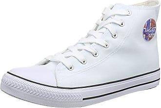 Diadora Game L High Waxed, Zapatillas Altas Unisex Adulto, Multicolor (Bianco/Bianco/Bianco C6180), 46 EU