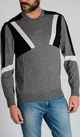 Sleeveless THUNDERBOLT STRIPE Sweater Frühling/Sommer Neil Barrett