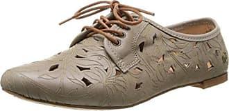 Neosens Bobal 335 - Zapatos de cordones de cuero para mujer azul Bleu (Alpino) 39