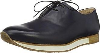 Neosens S091 Restored Skin Aris, Zapatos de Cordones Oxford para Hombre, Negro (Ebony), 46 EU