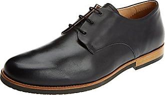 Neosens S095 Restored Skin Aris, Zapatos de Cordones Oxford para Hombre, Marrón (Cuero), 42 EU