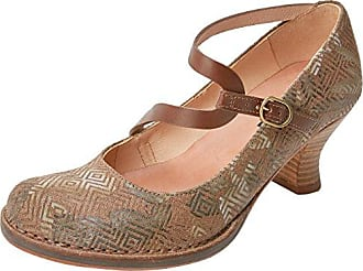 Neosens S577 Restored Skin Debina, Zapatos de Tacón con Punta Cerrada para Mujer, Marrón (Cuero), 37 EU
