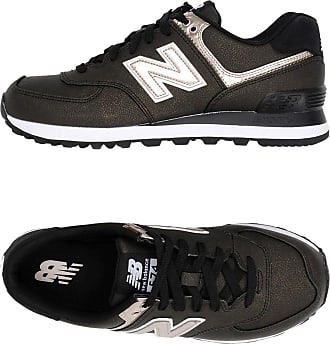 574 SYNTHETIC SHINY LEATHER - FOOTWEAR - Low-tops & sneakers New Balance