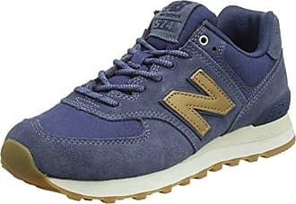 New Balance 574 Core Plus, Zapatillas para Hombre, Azul (Navy/Red), 38 EU