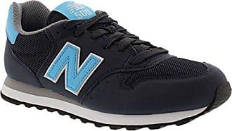 New Balance 500, Zapatillas para Mujer, Azul (Navy/Gold Ngn), 37.5 EU