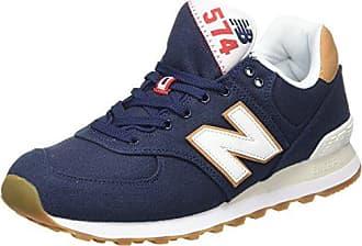 U410 D 14E, Baskets mode mixte adulte - Bleu (Mnr Navy/Red), 40 EU (7 US)New Balance