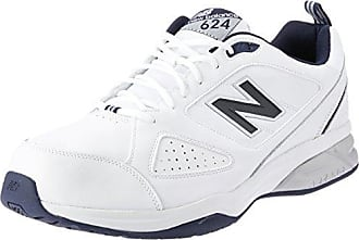 MX624AW4-624, Chaussures Multisport Indoor Homme, Blanc (White 100), 50 EU (14.5 UK)New Balance