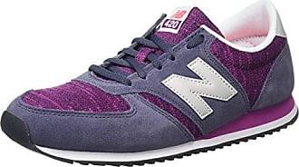 New Balance 500, Zapatillas para Mujer, Azul (Navy/Purple Rnp), 37 EU