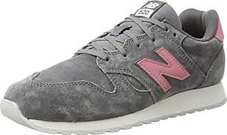 WL520, Zapatillas de Atletismo para Mujer, Gris (Grey/Pink), 36.5 EU New Balance