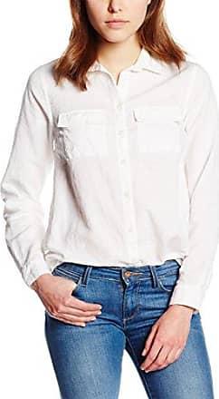 Womens Pinstripe Frayed Hem Long Sleeve Shirt New Look