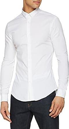 New Look Dekko-Pebbledash Stretech, Camisa Casual para Hombre