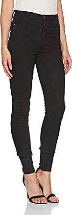New Look Petite Highwaist Stratford, Vaqueros Skinny para Mujer, Negro (Black 1), 4/L28
