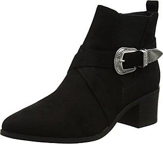 New Look Damen Lace-up High Sandal Stiefeletten, Schwarz (Black 1), 39 EU