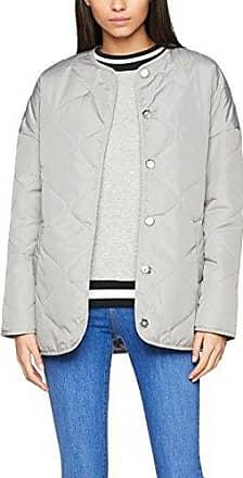 New Look Palo, Impermeable para Mujer, Blanco (White), 40 (Talla del Fabricante: 12)
