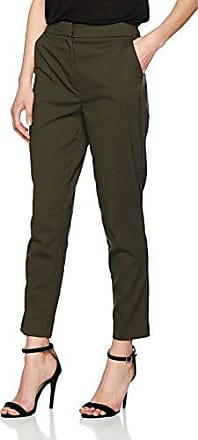 Womens Embroidered Pinstripe Trousers New Look