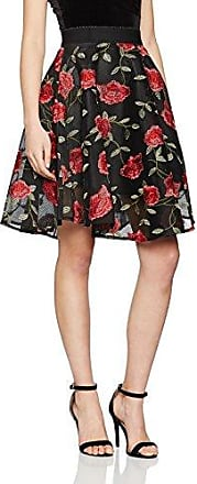Rose - Jupes Casual - Femme - Black (Black Pattern) - 42 (Taille Fabricant: 14)New Look