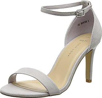 Womens Oaker Open Toe Heels New Look
